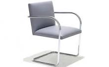 Cadeira Brno Tubular Cromada e Inox