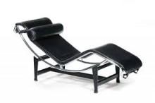 Chaise LC4 Cromada e Inox